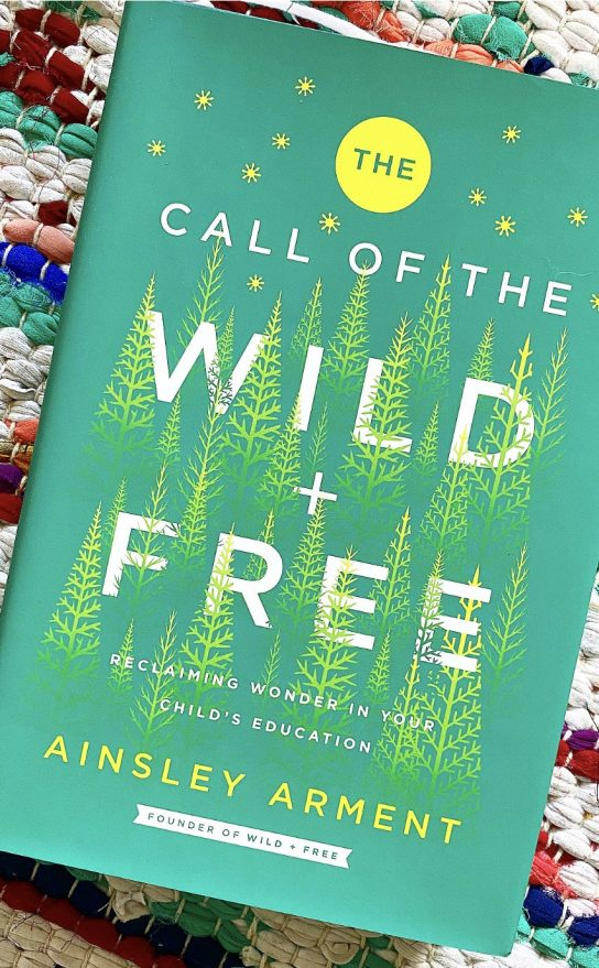 book titled The Call of the Wild and Free